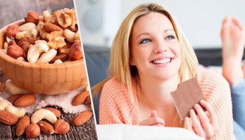 Alimentos para melhorar o humor