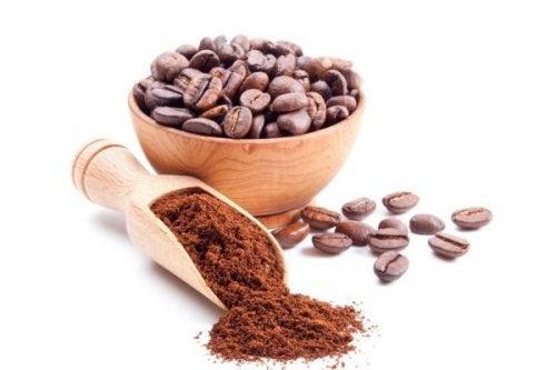 Café inteiro e moído
