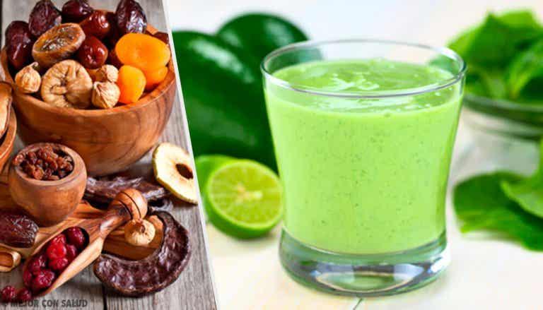 Aprenda a preparar saudáveis e nutritivas batidas verdes