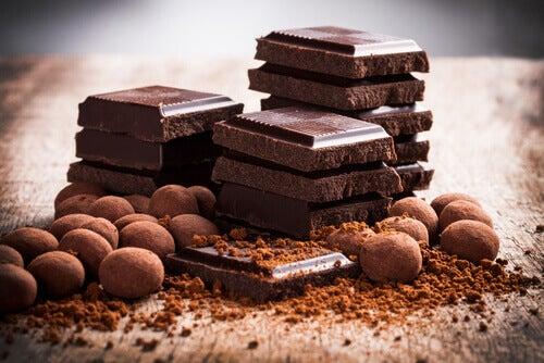 O chocolate é um dos alimentos que prolongam a vida