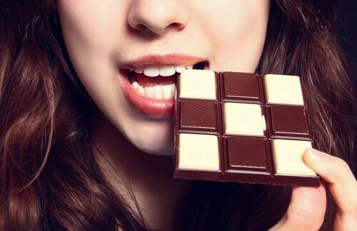 Chocolate para melhorar o humor