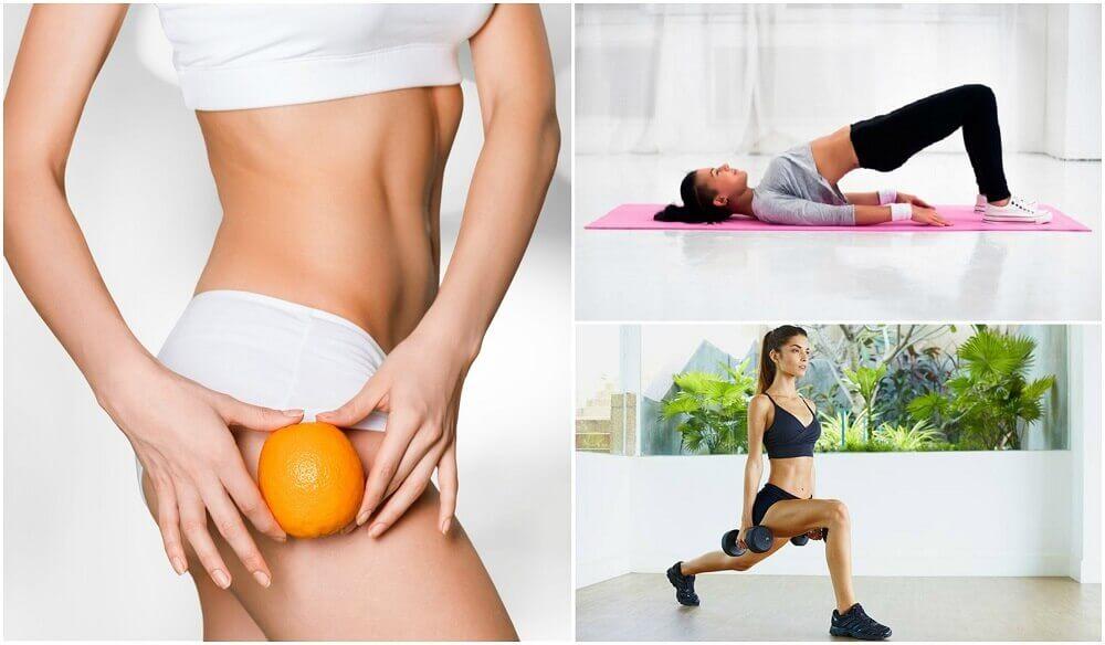Combata a celulite das pernas e glúteos com estes 5 exercícios