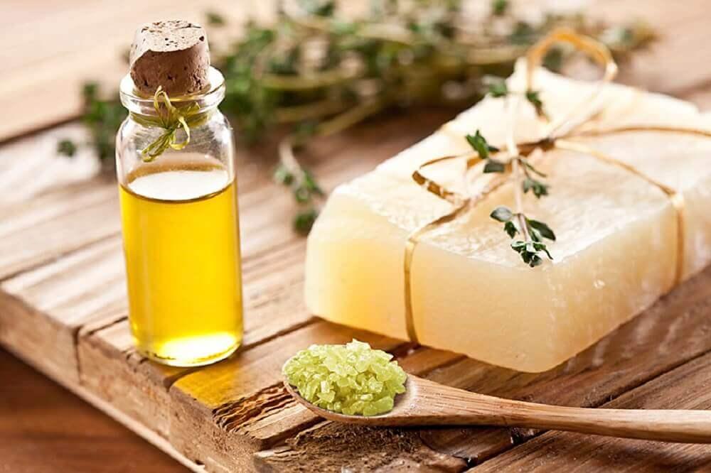 Sabonete natural para proteger a região íntima