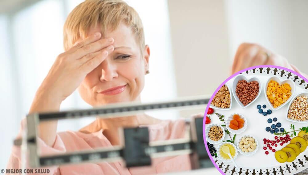 Dieta ideal para perder peso durante a menopausa