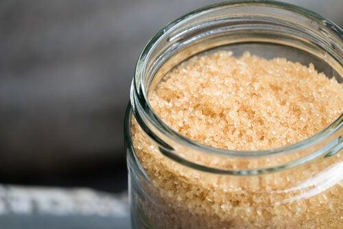 Esfoliante corporal com arroz