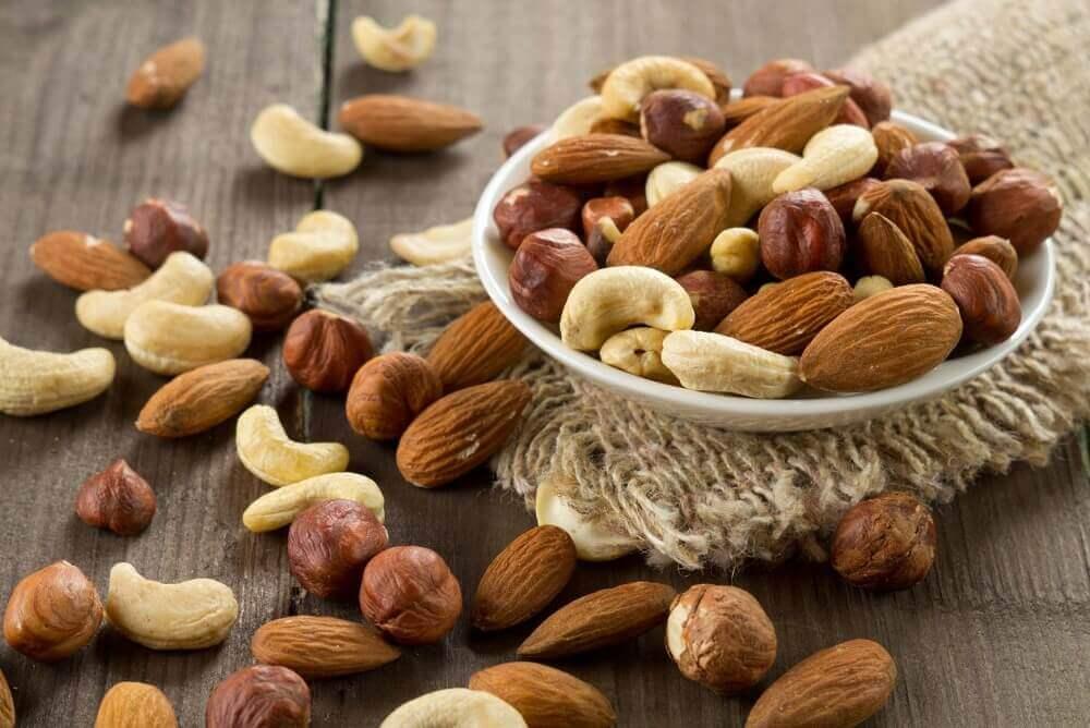 Oleaginosas para proteger a saúde do coração
