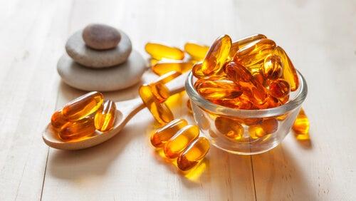Cápsulas com vitamina A