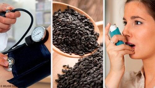 O que é a semente negra e quais são seus poderes de cura?