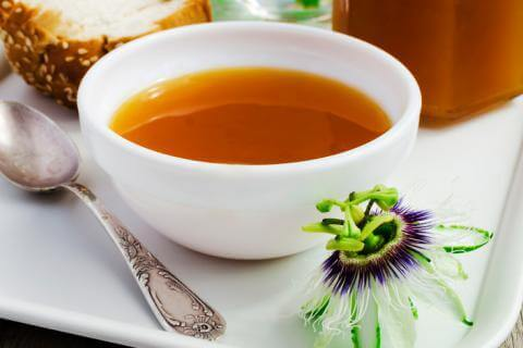 Sopa de passiflora é um alimento para pessoas nervosas