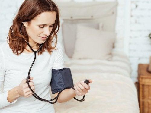 Aumento da  pressão arterial e os olhos