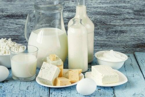 Quais são os produtos lácteos com menos lactose?