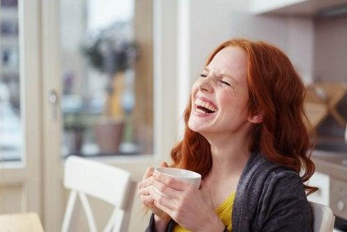 Rir é uma terapia quando se sentir triste