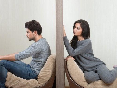 Riscos das separações temporárias para o casal