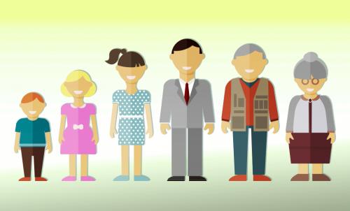 A expectativa de vida desde os mais novos aos mais velhos