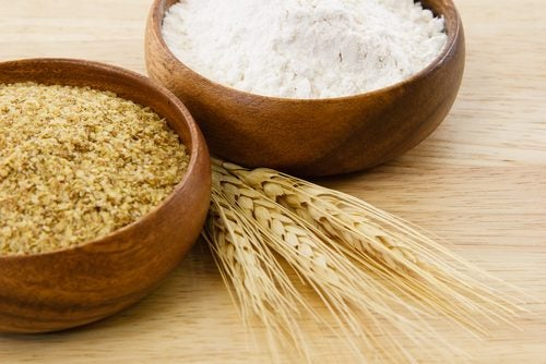 Opções de farinhas sem glúten