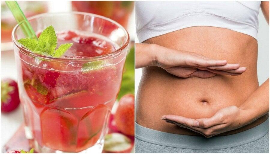 Como preparar água aromatizada de morango e limão para desintoxicar seu organismo