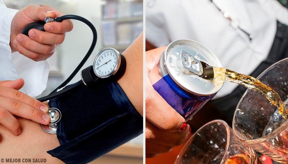 Bebidas que mais aumentam a pressão arterial