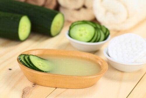 Benefícios do pepino para a pele