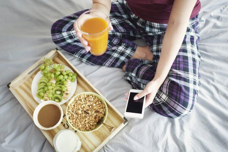 Alguns alimentos muito saudáveis para o seu café da manhã