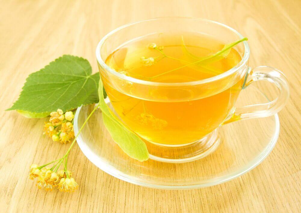 Chá de flores de tília para melhorar a circulação