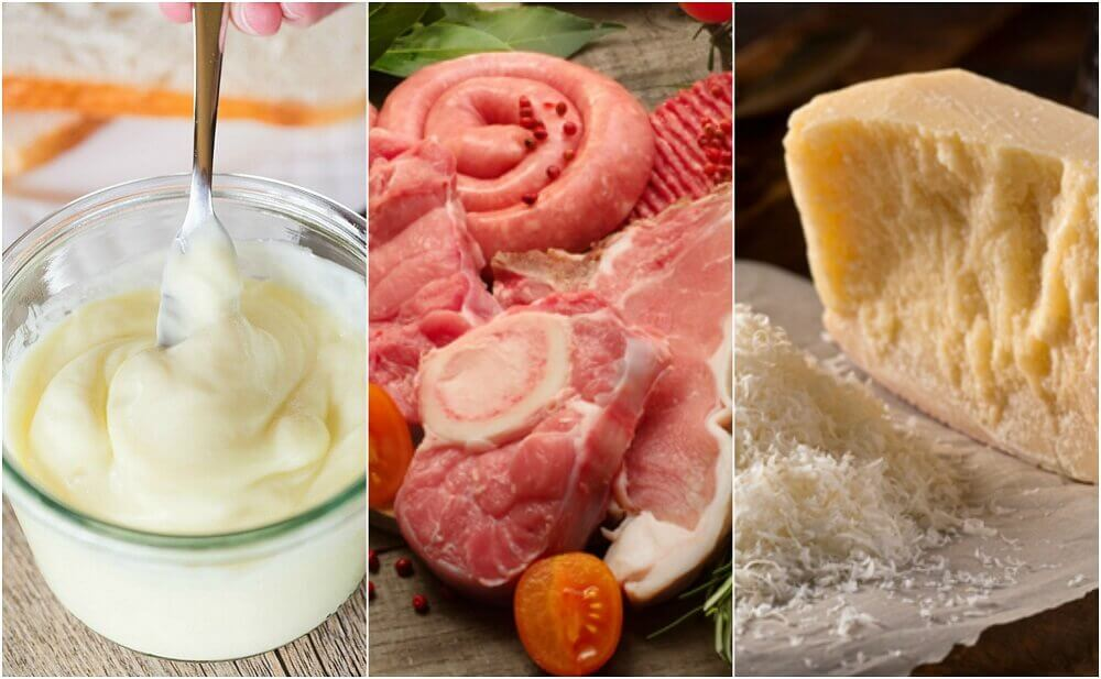 Alimentos ricos em colesterol ruim (LDL)