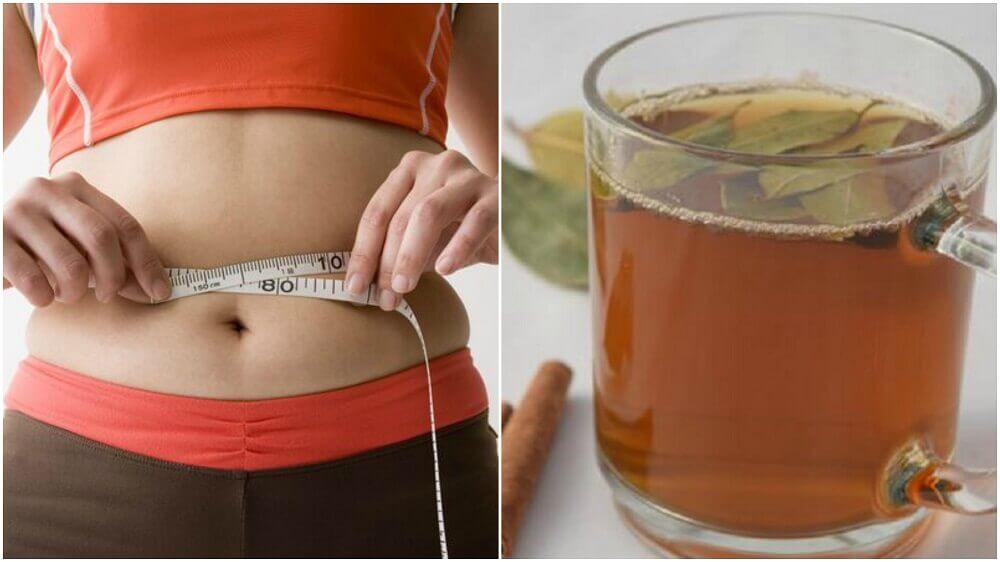Reduza centímetros da cintura combinando dois ingredientes em um chá