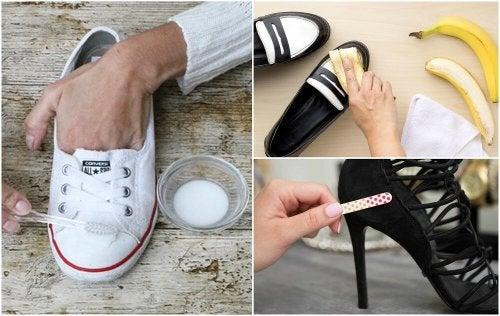 10 truques curiosos para deixar seus sapatos como novos