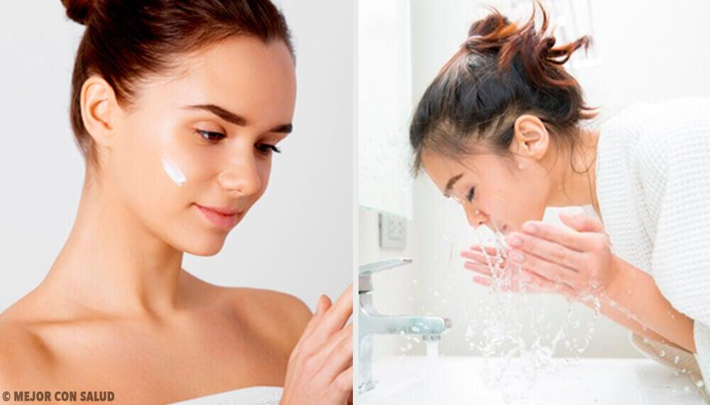 5 erros ao limpar o rosto que envelhecem a pele