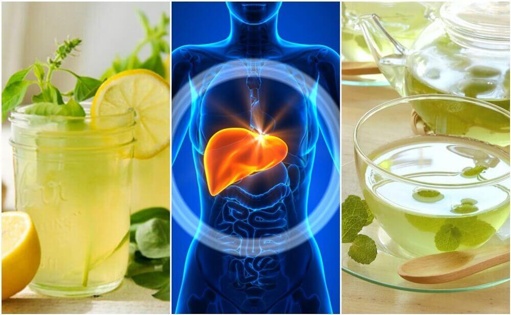 5 bebidas para limpe o fígado enquanto dorme