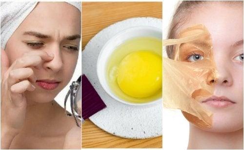 5 máscaras faciais com ovo para embelezar sua pele