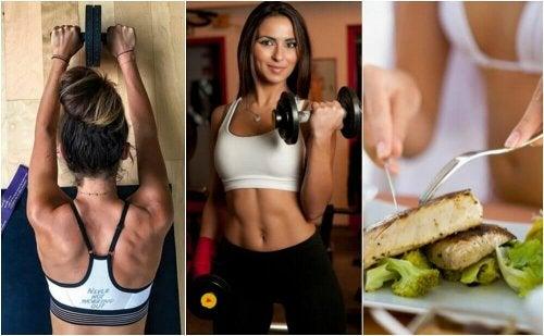5 dicas para aumentar a massa muscular e queimar gordura
