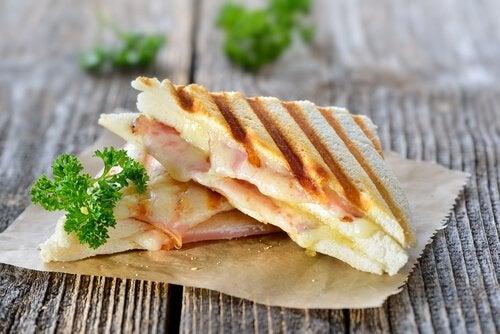 Evitar sandwiches para o café da manhã