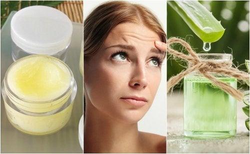 5 tratamentos naturais para suavizar as rugas da testa