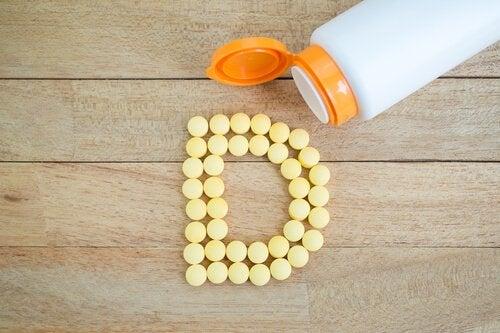 Pílulas de vitamina D