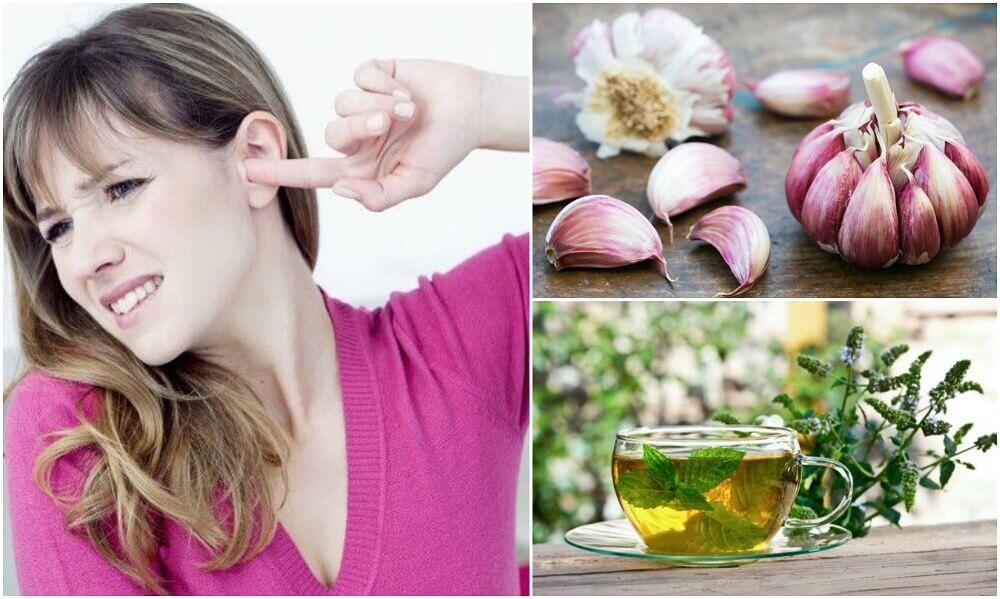 5 remédios naturais para acabar com o zumbido no ouvido