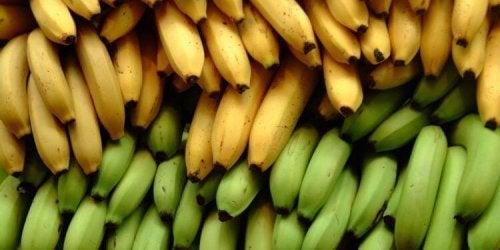 3 diferenças nutricionais entre a banana e o plátano