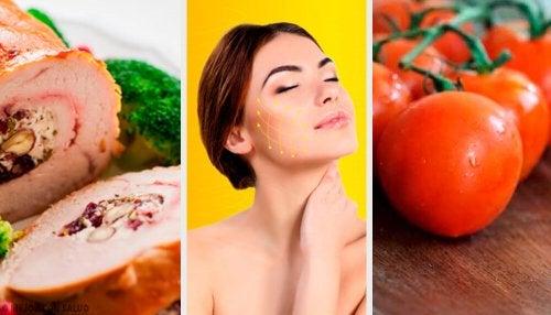 4 alimentos que favorecem a produção de colágeno