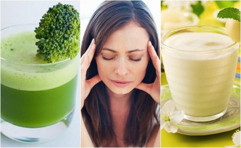 5 deliciosos sucos para combater o estresse naturalmente