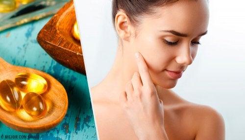 5 formas de usar uma cápsula de vitamina E na pele
