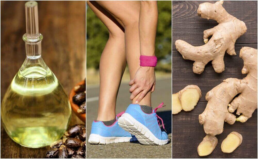 5 remédios naturais para a tendinite do calcâneo