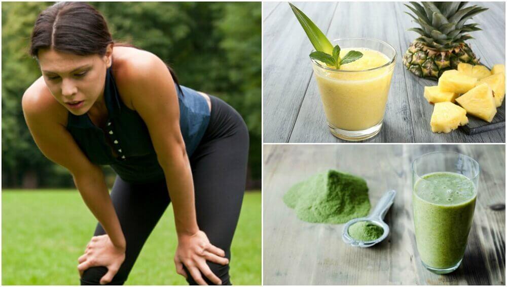 5 sucos para superar a fadiga muscular