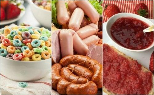 6 alimentos que deve evitar no café da manhã
