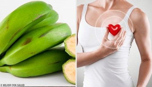 6 benefícios da banana verde que você desconhecia