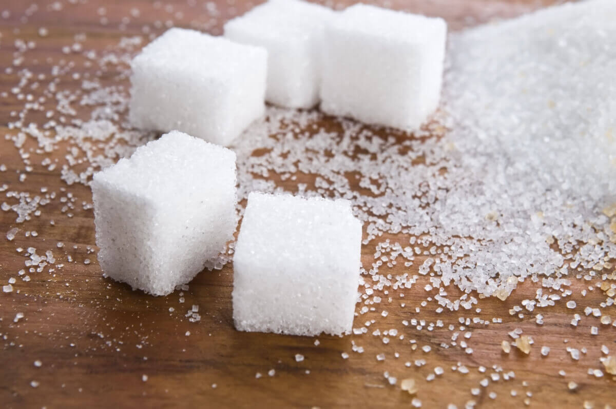Cubos de açúcar