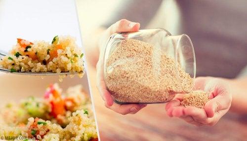 6 razões para comer quinoa