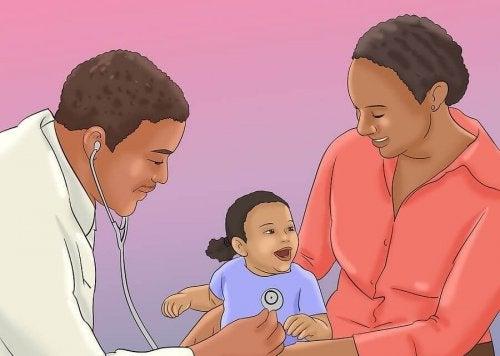 7 sinais de que você deve levar seu bebê ao médico