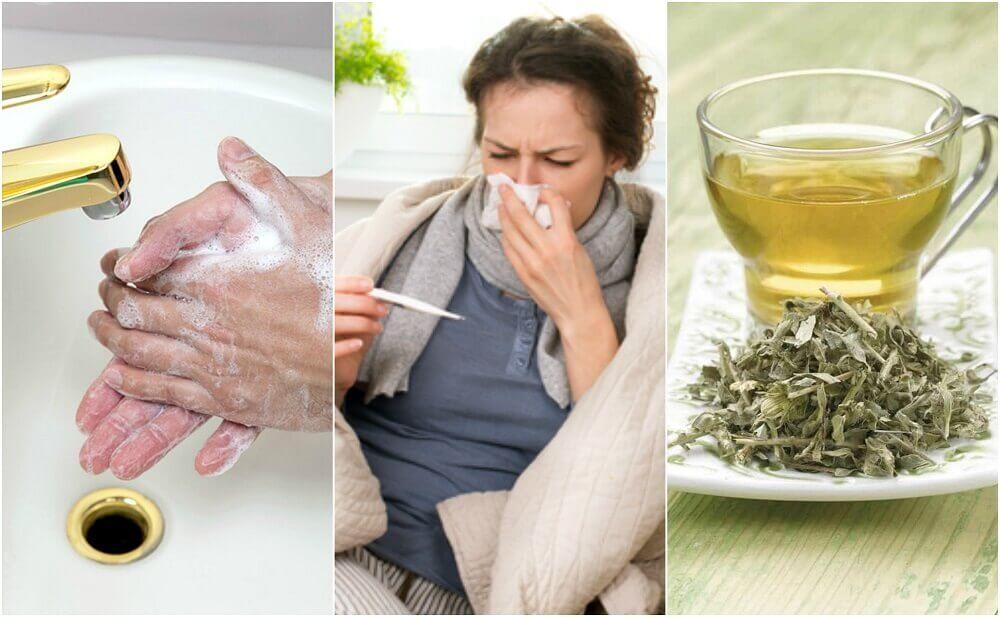 Como se cuidar em casa quando você tem gripe