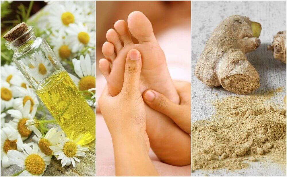 Alivie a dor nos pés com estes 6 remédios caseiros