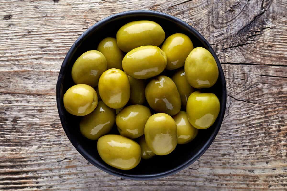 Azeitona, um dos alimentos cetogênicos para perder peso
