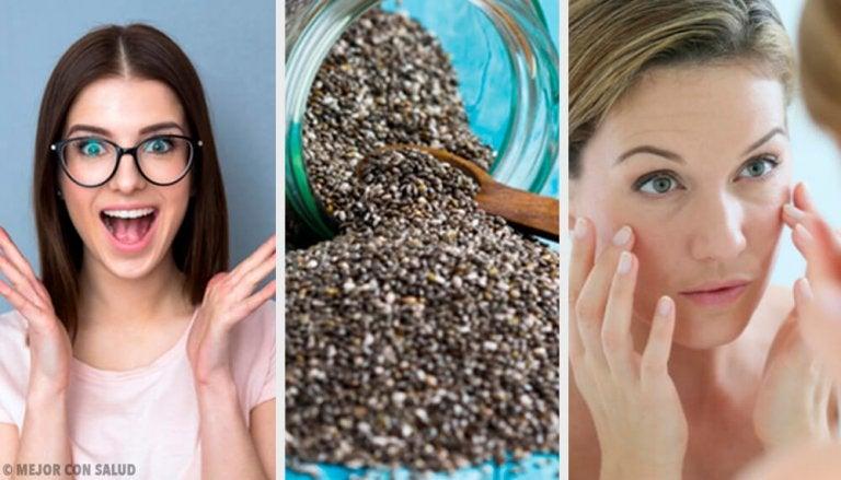 8 surpreendentes benefícios das sementes de chia